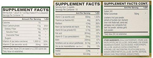 AdvoCare Herbal Cleanse & Fiber PEACHES & CREAM (kit)   Herbal Cleanse 20 Capsules & Fiber 10 Pouches