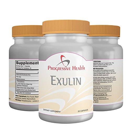 Exulin: Anxiété soulagement suppléments, dépression Pills, convertit tryptophane en sérotonine. Détend la ménopause. Inclure: Rhodiola Rosea, Ginkgo Biloba. Calme les attaques de panique humeur Stress énergétique. Sécuritaire pour les enfants