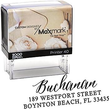 Amazon.com : Custom Return Address Stamp, Rubber Stamp, Wedding ...