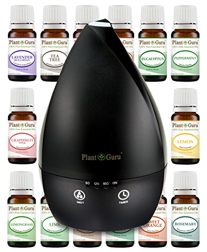 Essential Oil Diffuser Gift Set Kit With Oils Aromatherapy U