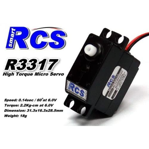 RCS Model R3317 18g RC Airplane Helicopter R/C Hobby Micro Servo SS838