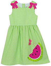 09b7a856e0 Green Seersucker Watermelon Sundress (2t-6x) · Rare Editions