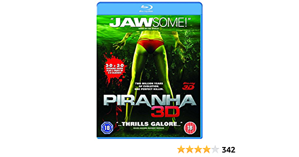 Piranha 3D (Blu-ray 3D) [Reino Unido] [Blu-ray]