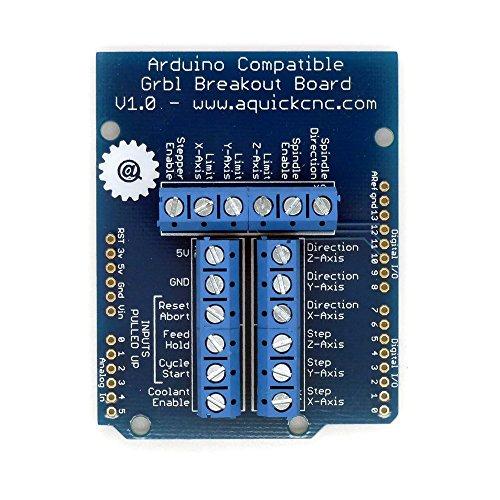 Cnc xyz arduino compatible grbl shield for stepper