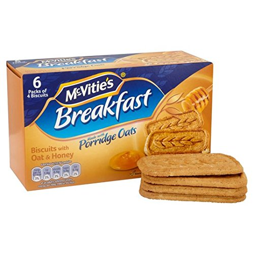 La avena y miel Desayuno de la galleta 300g de McVitie