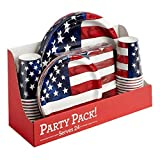 Americana Party Pack, 120-Piece -*Service for 24*