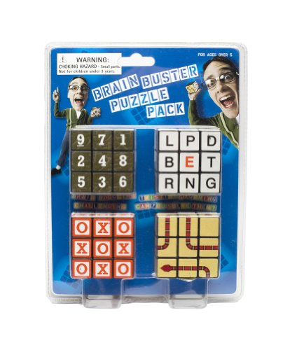 Brain Buster Puzzle Pack - Cube Sudoku Rubiks
