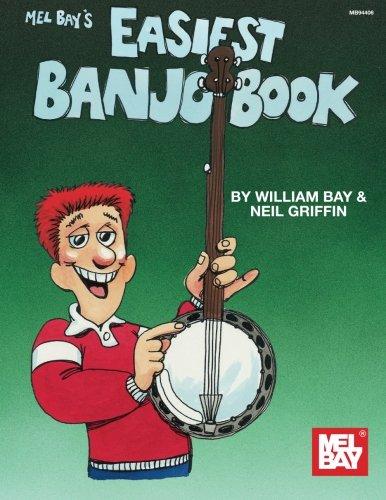 - Mel Bay Easiest Banjo Book