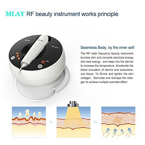MLAY RF Radio Frequency Face Lifting Beauty Care Device For Wrinkle Remove, Skin Lifting & Tightening, Anti-wrinkle