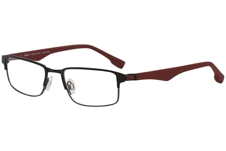 6a390bbf3f Eyeglasses FLEXON E1062 001 BLACK GUNMETAL at Amazon Men s Clothing store