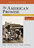 The American Promise, Value Edition, Volume 1