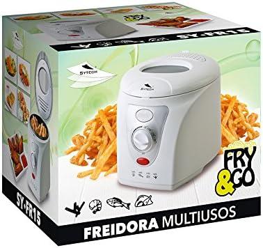Freidora Electrica 1,5L, 1200W, Blanca: Amazon.es: Hogar