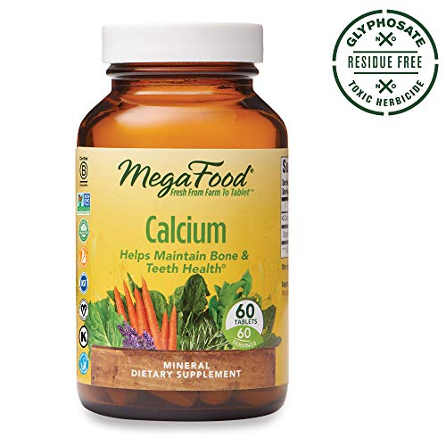 MegaFood Calcium Supports Healthy Tablets