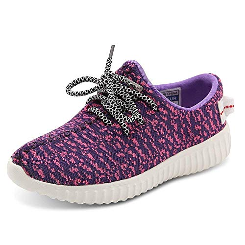 akers Boys and Girls Cute Casual Running Shoes ()