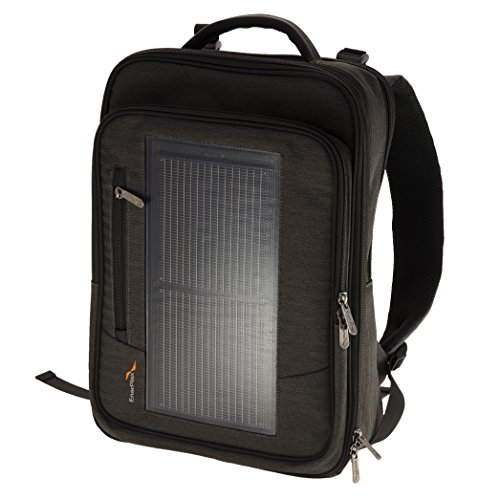 EnerPlex Packr Executive Solar Powered Backpack (PREXECGY)