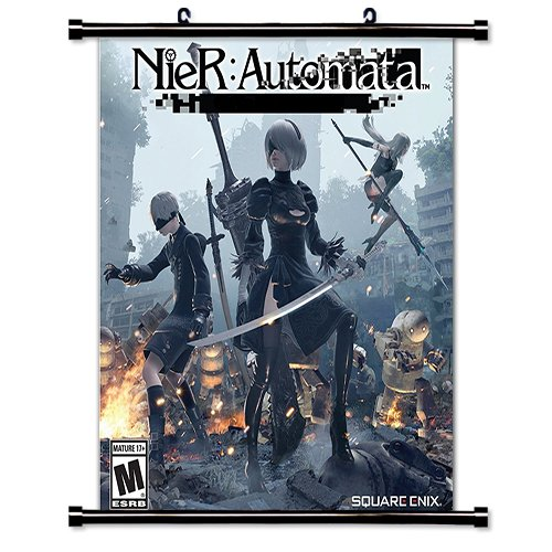 Nier Automata Video game Wall Scroll Poster  Inches