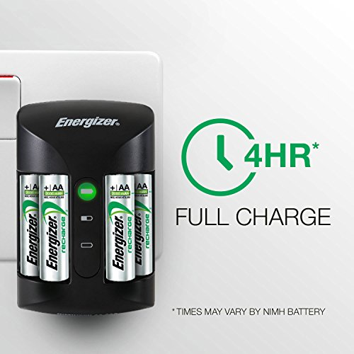 Energizer Pro Battery Charger, Charges AA and AAA