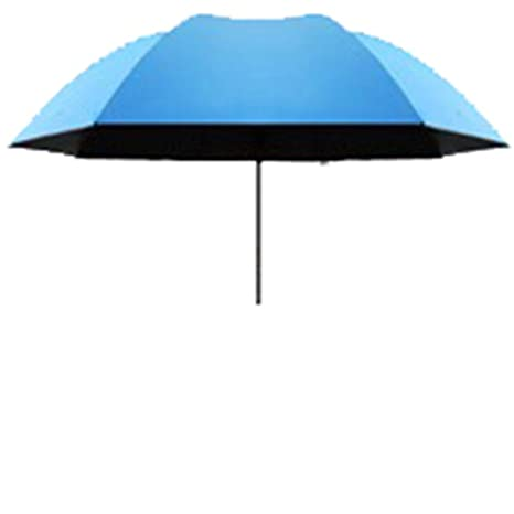 LybCvad paraguas Elegantes paraguas de flores de agua sombrilla sol paraguas de sol de vinilo 6