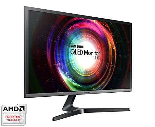 "Samsung U28H750 Quantum Dot 28"" UHD Monitor  10 Bit,"