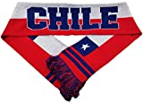 National Soccer Team Chile International Soccer Scarf, Red, One Size