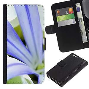 Ihec-Tech / Flip PU Cuero Cover Case para Apple Iphone 6 PLUS 5.5 - Plant Nature Forrest Flower 79