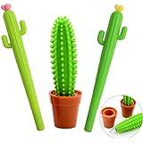 Star ssto 3pcs Cactus bolígrafo regalo de la escuela papelería bolígrafo Oficina Suministros Suministros