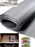 Skywalk Multipurpose Textured Super Strong Anti-Slip Eva Ma, Size Full 5 Mtr Length(Color Silver Grey)