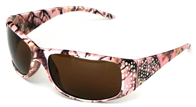084b1401fb VertX Womens Pink Camouflage Sunglasses Fishing Hunting – Pink Camo Frame –  Amber Lens
