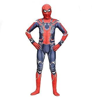 TOYSSKYR Traje de Cosplay de Spider-Man Avengers Iron Spider-Man ...