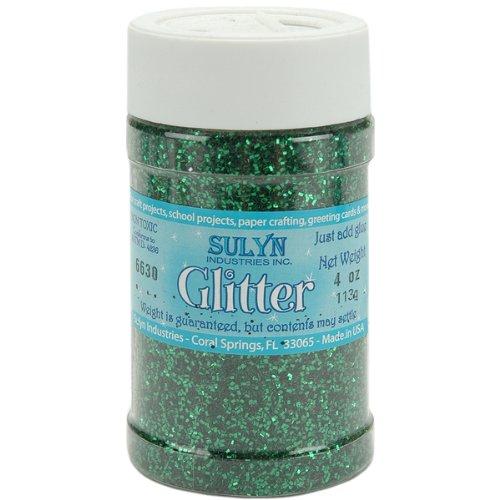 - Sulyn Glitter 4 Oz. Shaker Jar: Kelly Green