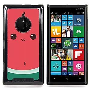 - funny watermelon cute drawing eyes - - Modelo de la piel protectora de la cubierta del caso FOR Nokia Lumia 830 RetroCandy