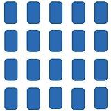 Muzik 腹筋ベルト 交換パッド 高電導 EMS腹筋ベルト用 20枚(10パック×2枚) 腹筋ベルト 腕筋 トレーニング ダイエット 脂肪燃焼