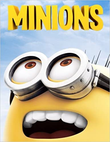 Minions Colouring Book A Lovely Colouring Book For Kids An A4 63