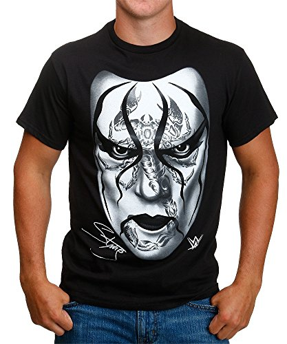 WWE Black For Sting Adult T-Shirt (Adult X-Large) by Freeze
