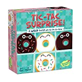 Peaceable Kingdom Tic Tac Surprise Twist on a Classic Vanilla VS Chocolate Donuts