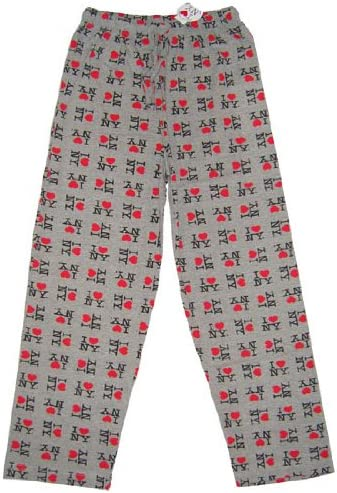 I Love NY York salón Pantalones corazón pantalón de Pijama ...
