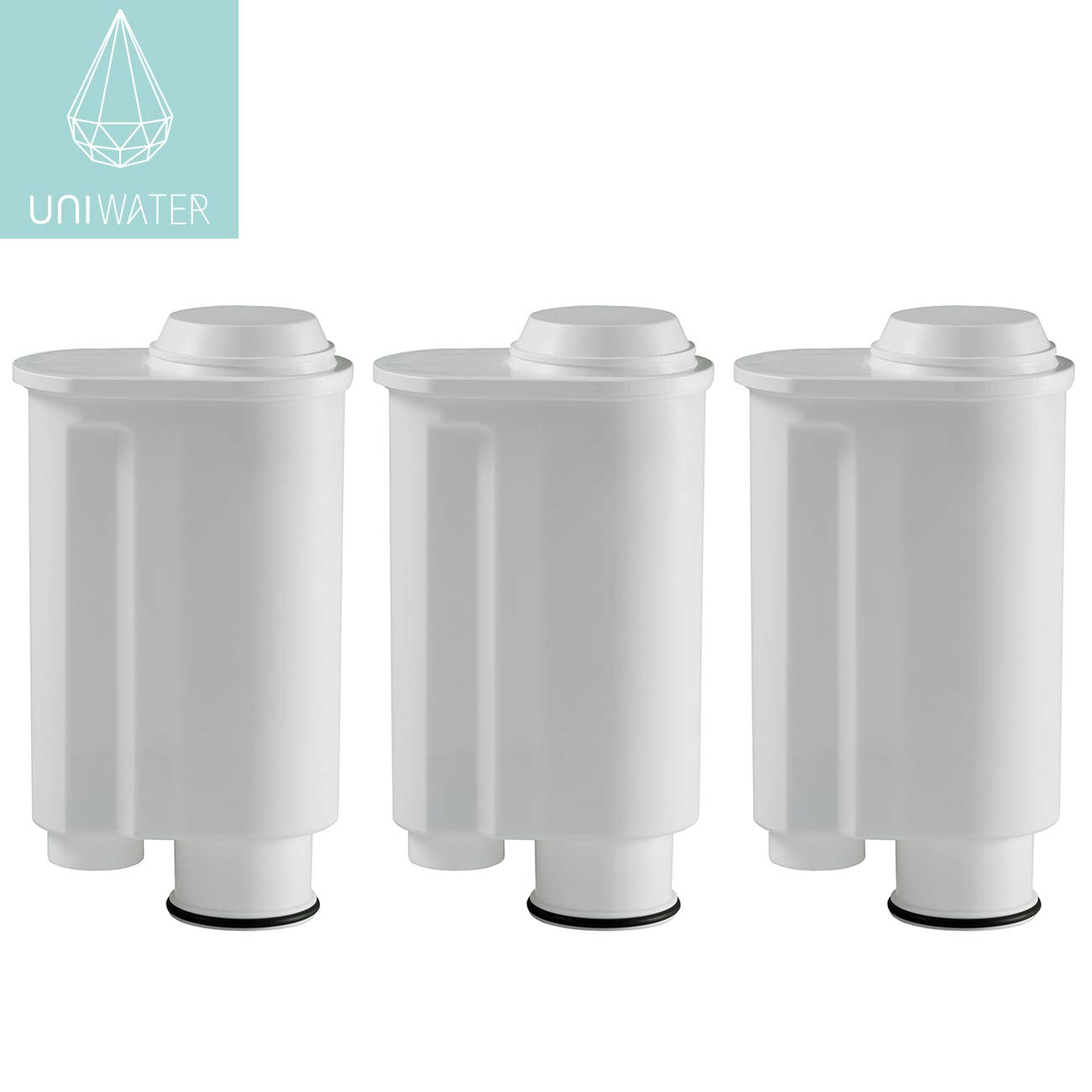 3x Water Filter Cartridges for Saeco Philips Intenza and Lavazza Gaggia coffee machines built up until 2015