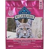Blue Buffalo Wilderness Salmon Adult Dry Cat Food, 5 lb, My Pet Supplies