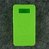 Case for SnowWolf Snow Wolf 200w Mod Silicone Skin Sleeve Skin Wrap Cover Sticker (green)
