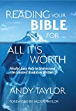 Download Reading Your Bible for All It's Worth: Finally! Easy Help to Understand  the Greatest Book Ever Written! in PDF ePUB Free Online