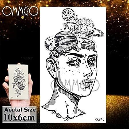 Yyoutop Acuarela Astronauta Universo e Tatuajes Pegatina para ...