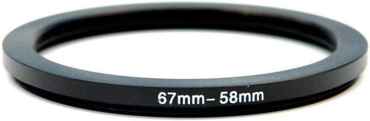 1pcs 37mm 49mm 52mm 55mm 58mm 62mm 67mm 72mm 77mm 82mm Metal Step Down Ring Lens Filter Adapter 67mm-62mm