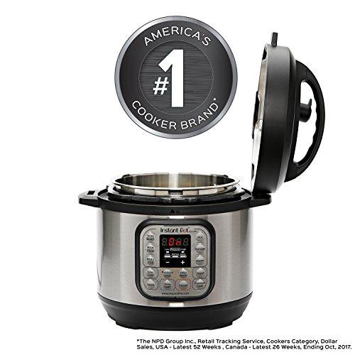 Instant-Pot-IP-DUO60-7-in-1-Multi-Functional-Pressure-Cooker-6Qt1000W