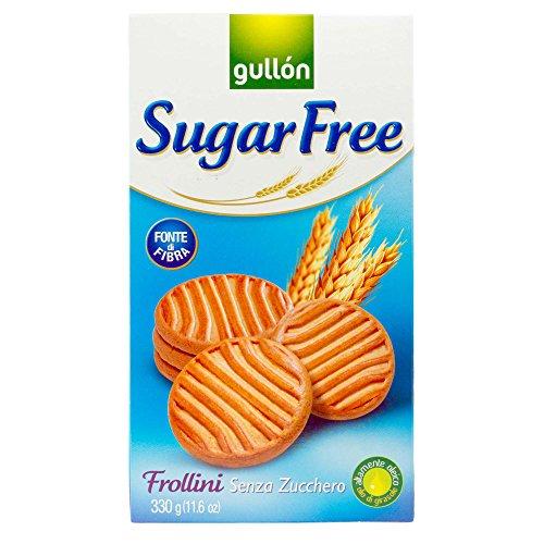 (Gullòn | Sugar Free Shortbread Biscuits | 4 x 330g | Pack of 4)