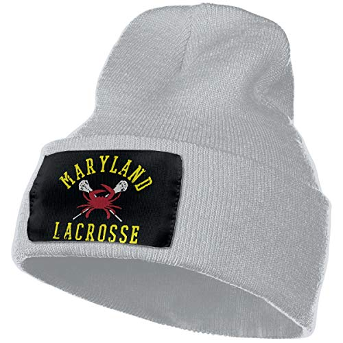 Maryland Crab Lacrosse Mens & Womens Adult Unisex Winter Knitted Hat