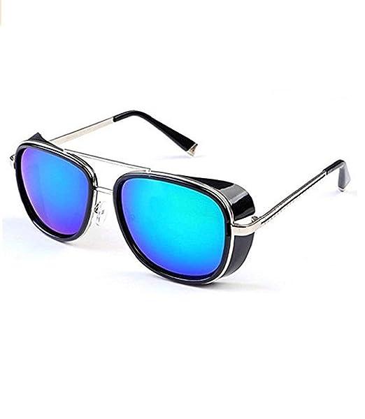 99cdc6cdbe Inception Pro Infinite (Marco plateado - Lentes verde oscuro) Gafas de sol  - Tony Stark - Retro - Hombre - Unisex -: Amazon.es: Ropa y accesorios
