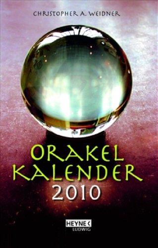 Orakelkalender 2010: Taschenkalender