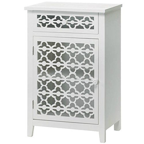 VERDUGO GIFT 57071345 57071345 Clover Heights Cabinet, White