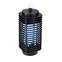 Lixada 110V Zapper Lamp Night Light Electric Mosquito Killer Trap Insect Flies Repellent for Home Balcony Garden
