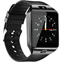 Qidoou Bluetooth Waterproof Fitness Tracker Smart Watch (Black)